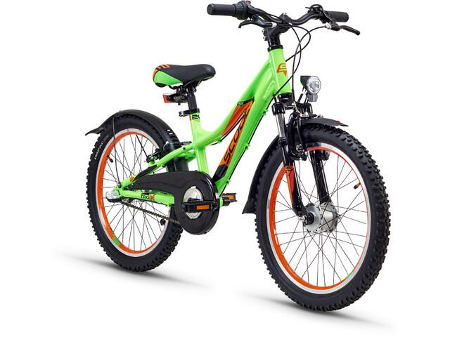 s'cool troX urban 20 3-S Børnecykel alloy grøn (2019)   City-cykler
